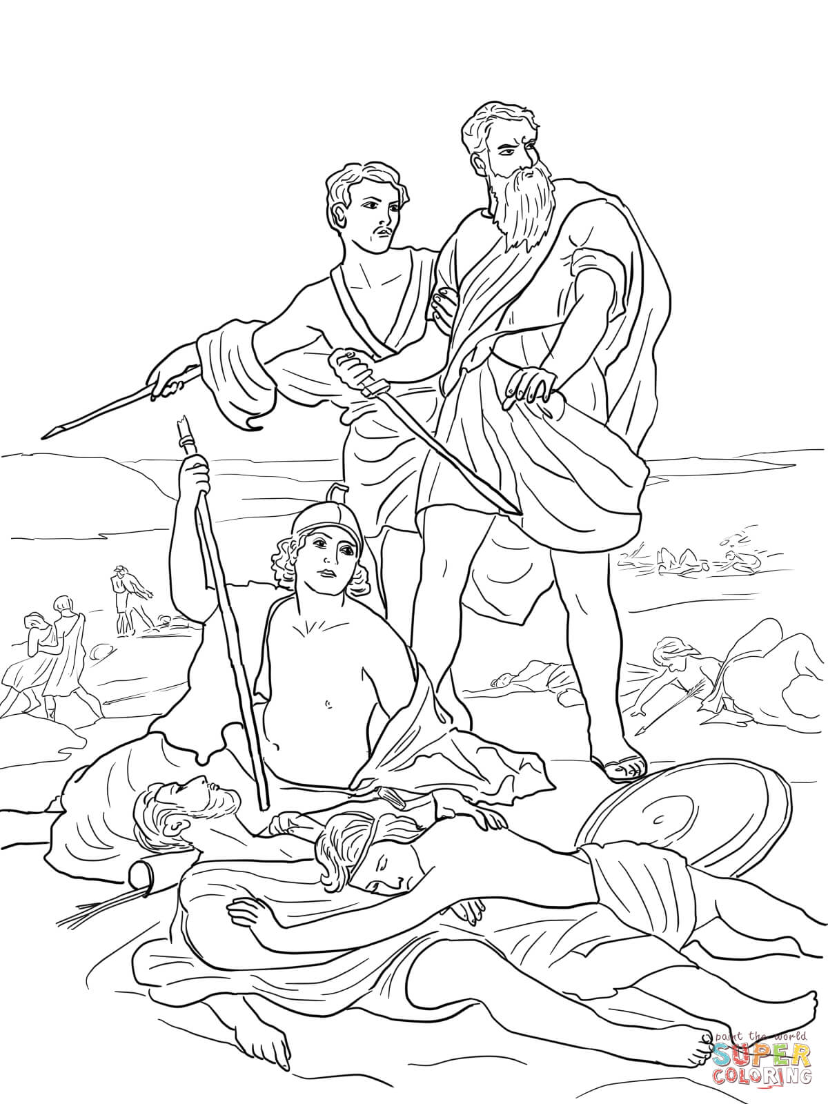 Of Saul Coloring Page