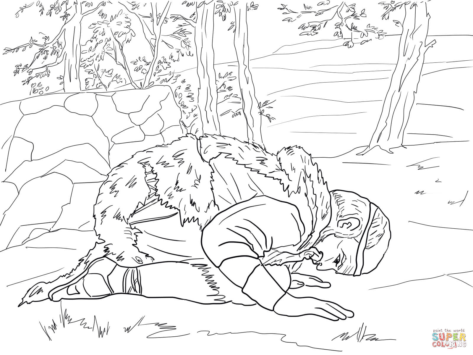 Elijah Fire Coloring Page Printable Coloring Pages