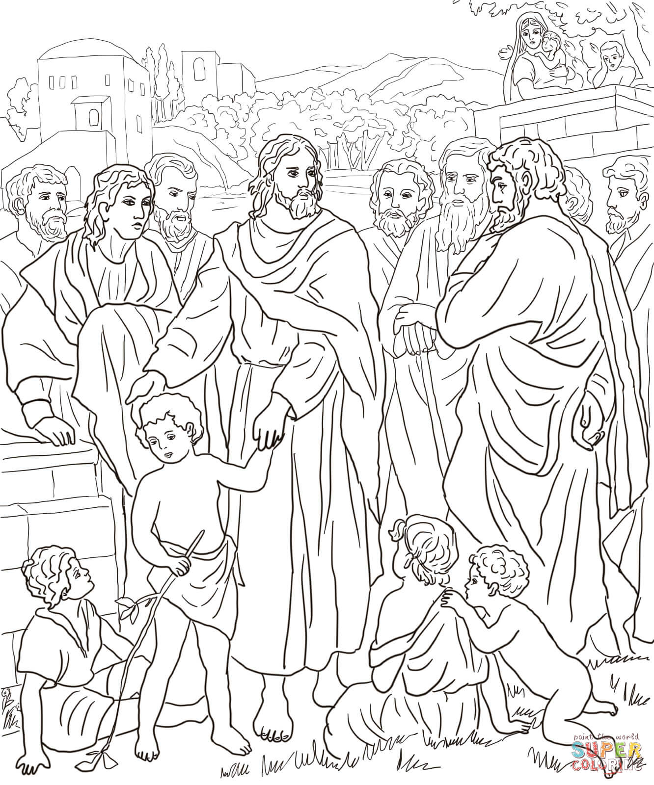 For Baby Jesus Face Coloring Coloring Pages