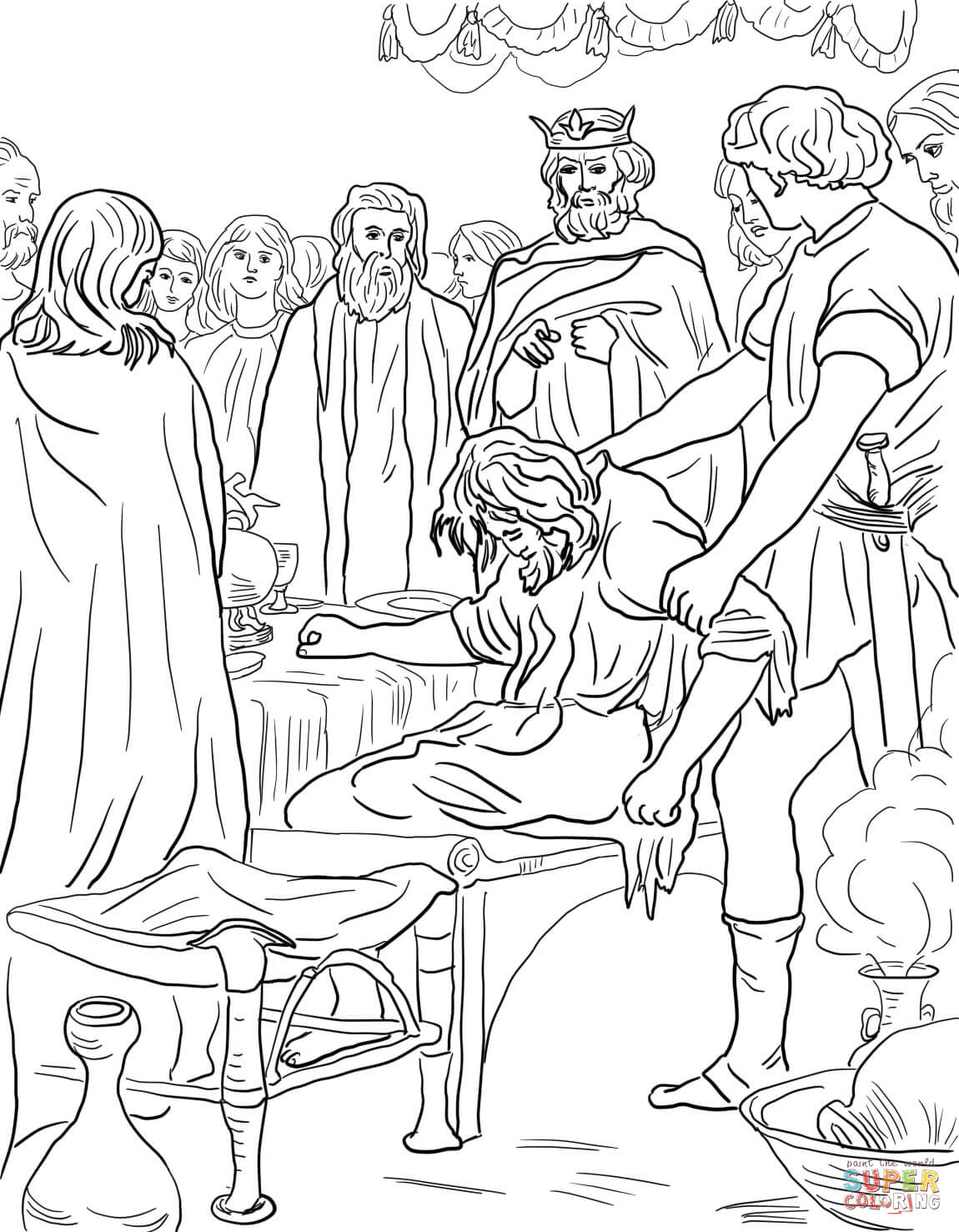 Great Banquet Parable Of The Worksheet | Printable Worksheets and  Activities for Teachers, Parents, Tutors and Homeschool Families