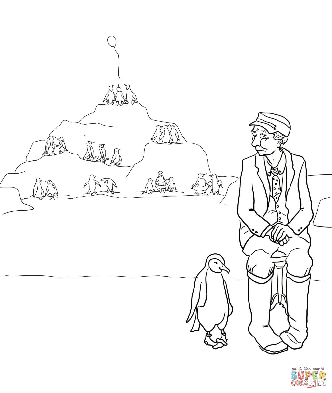 A Sick Day For Amos Mcgee Coloring Page