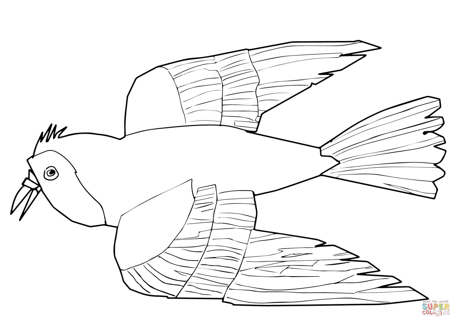 Little Red Hen Coloring Puppets Coloring Pages