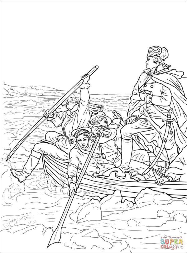 american revolution coloring pages # 6