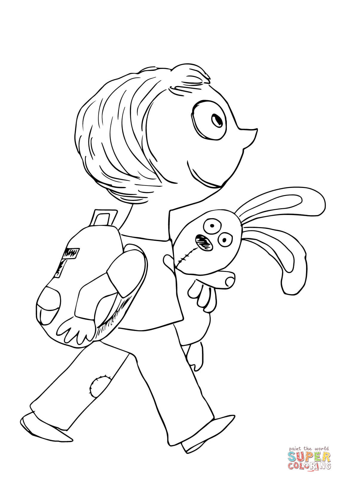 Mo Willems Characters Coloring Pages