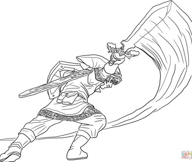 The Legend Of Zelda Coloring Pages Free Coloring Pages
