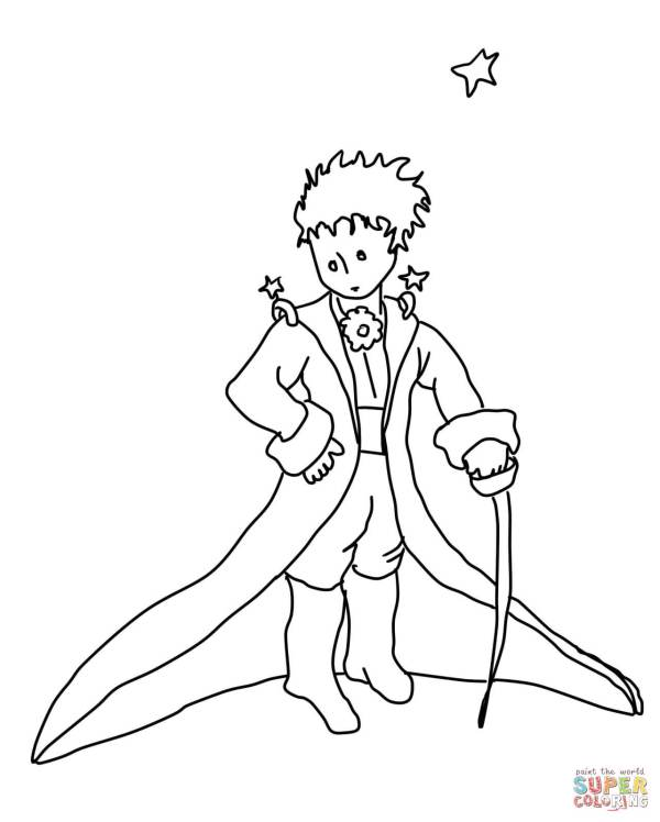 prince coloring pages # 14