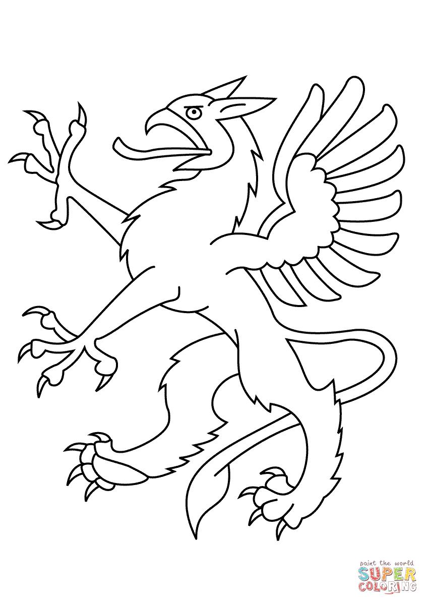 Drachen Wappen Malvorlage Batavusprorace