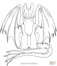 Unique Coloriage Dragon De Glace Krokmou