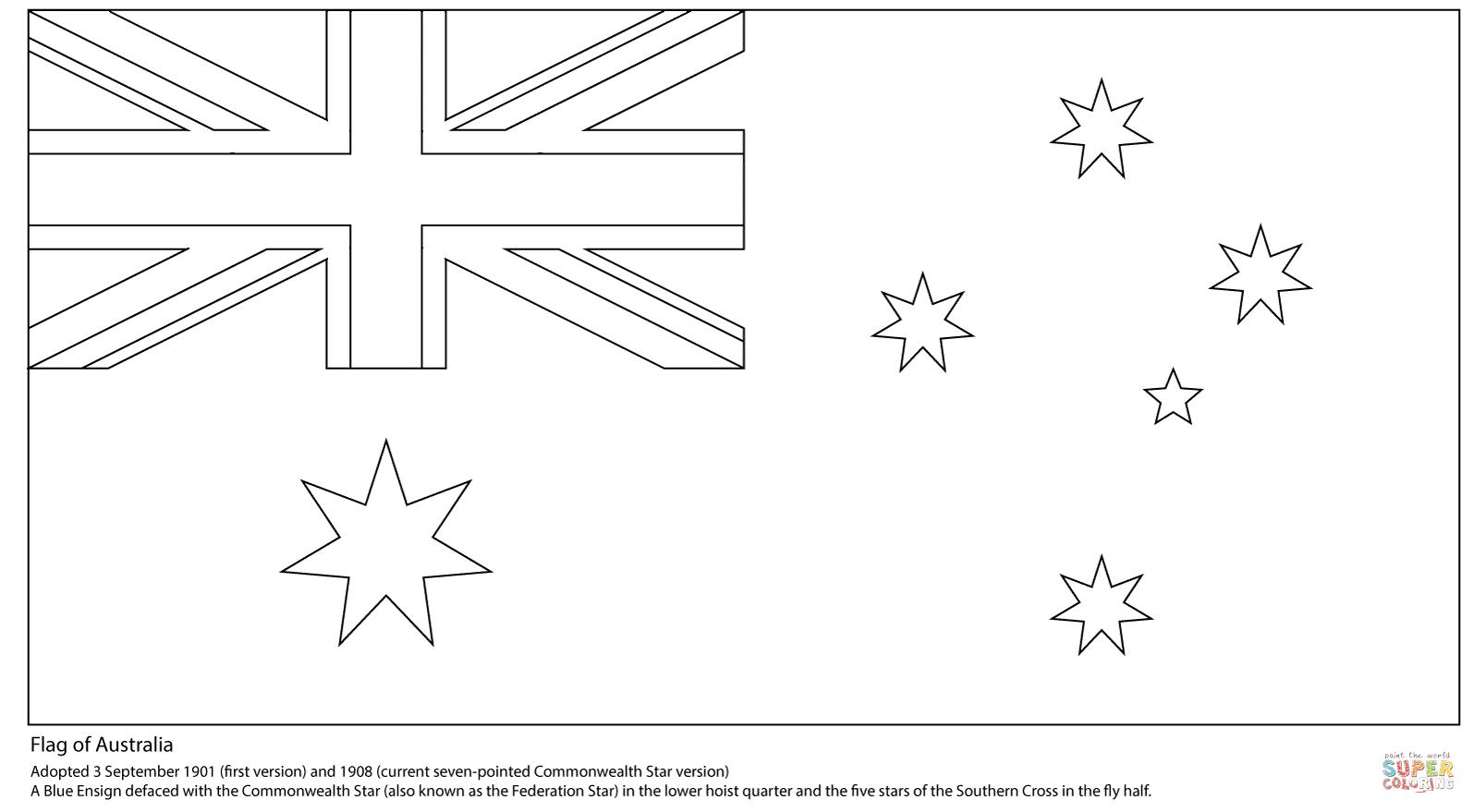 Disegno Di Ban Ra Dell Australia Da Colorare