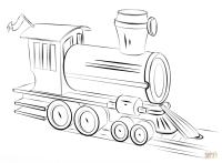 Disegno di Locomotiva a vapore da colorare | Disegni da ...