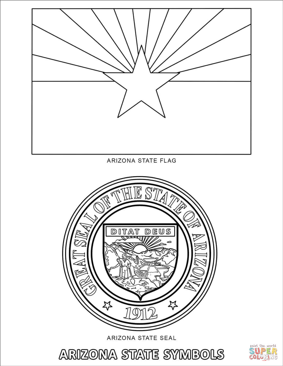 Arizona State Worksheets