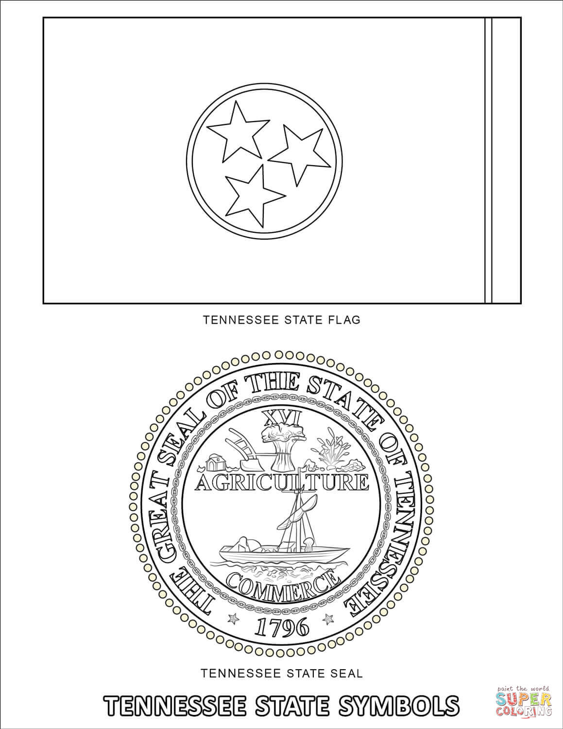 New York State Flag Coloring Page Free Coloring Pages Download ...