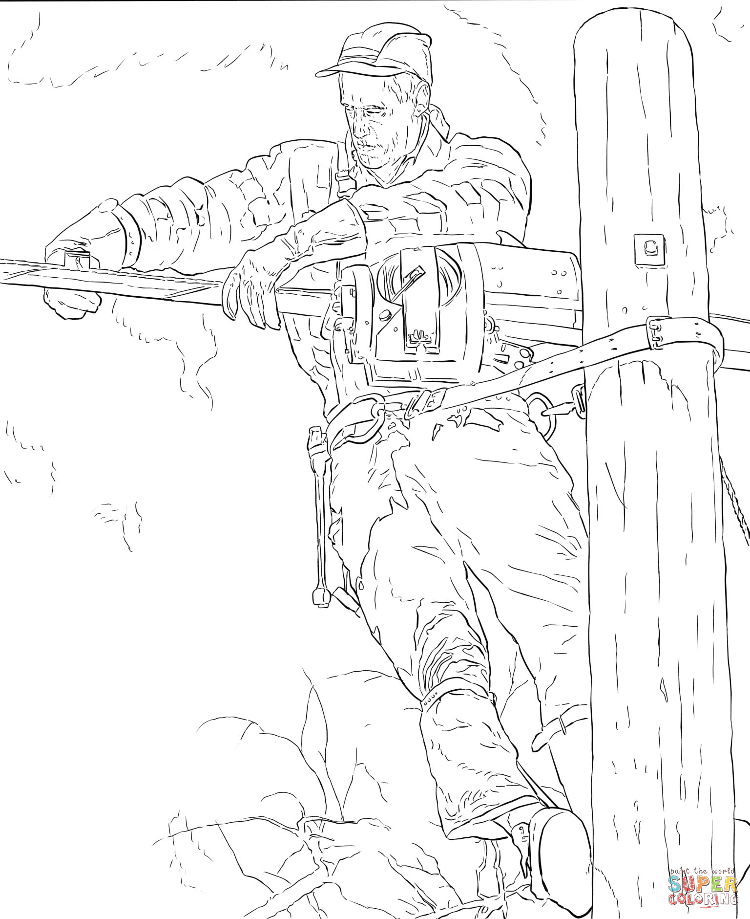 Norman Rockwell Coloring Book Coloring Pages