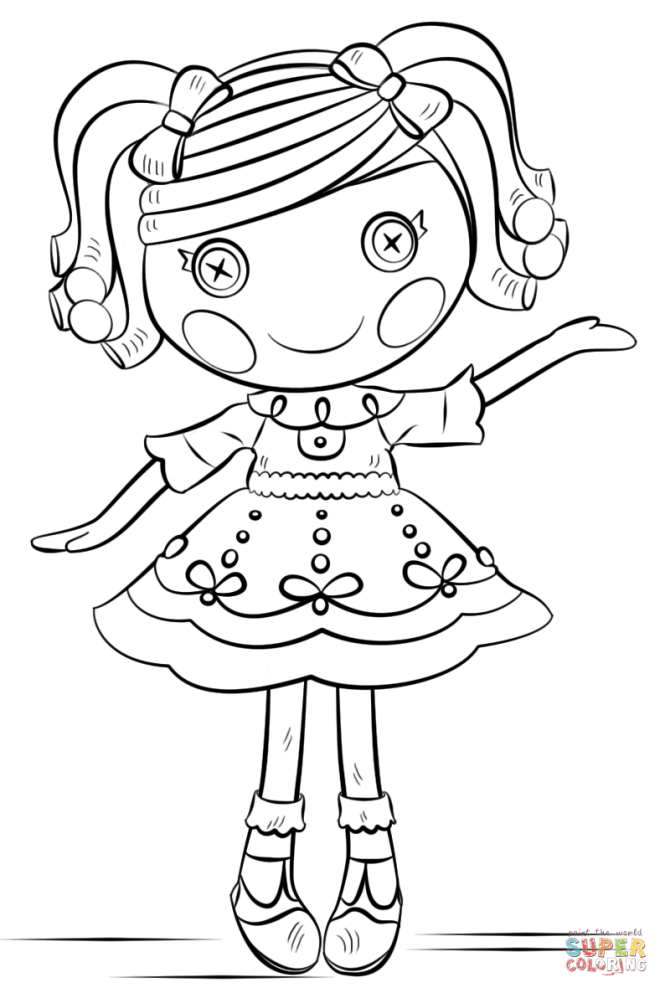 lalaloopsy printable coloring pages | Coloring Page for kids