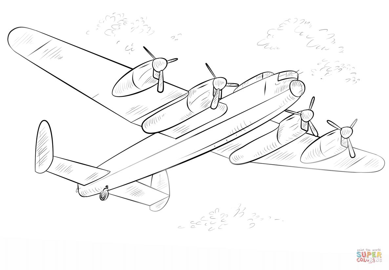 Lancasterer Coloring Page