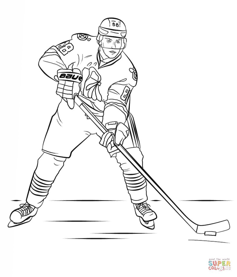Printable Hockey 8 Sports Coloring Pages