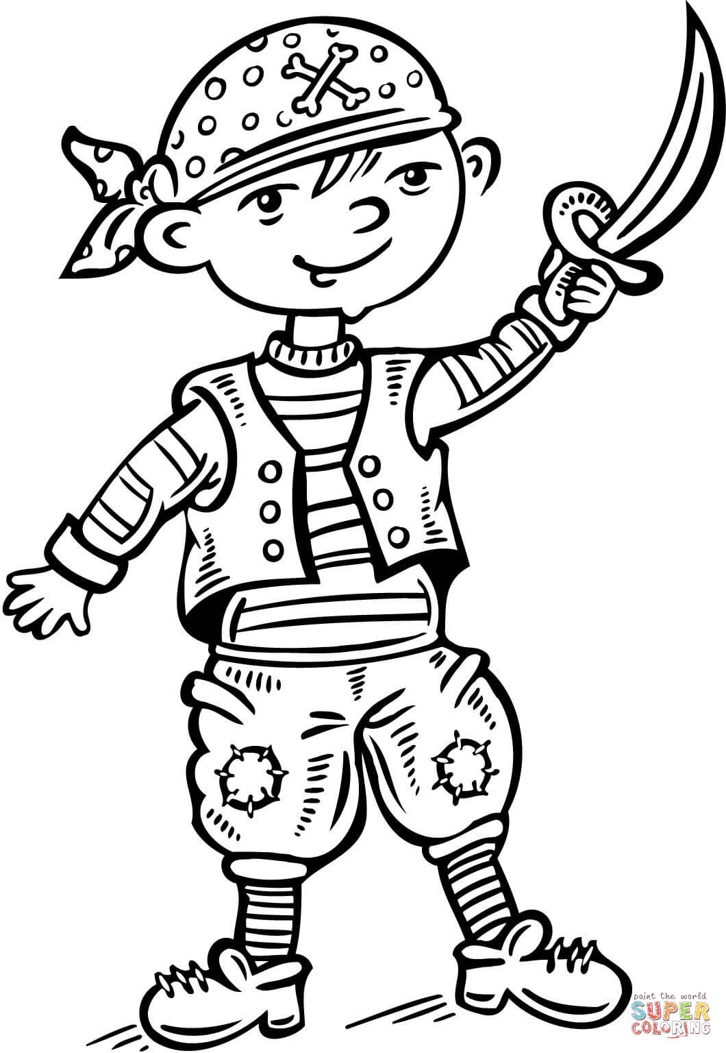 Mop Coloring Coloring Pages