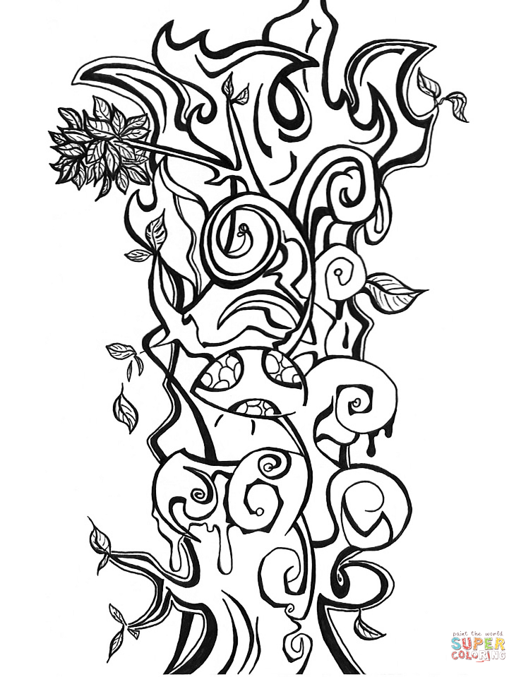 Crazy Color Creatures Coloring Pages Coloring Pages