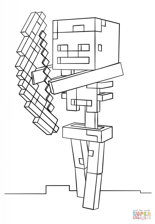 49 Minecraft Creeper Coloring Page Pin Minecraft Creeper 4