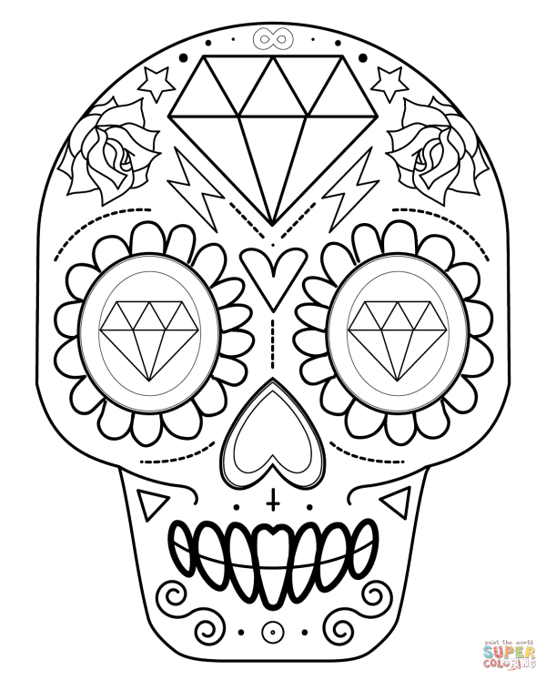 20 Diamond Coloring Page Sheets Ideas And Designs