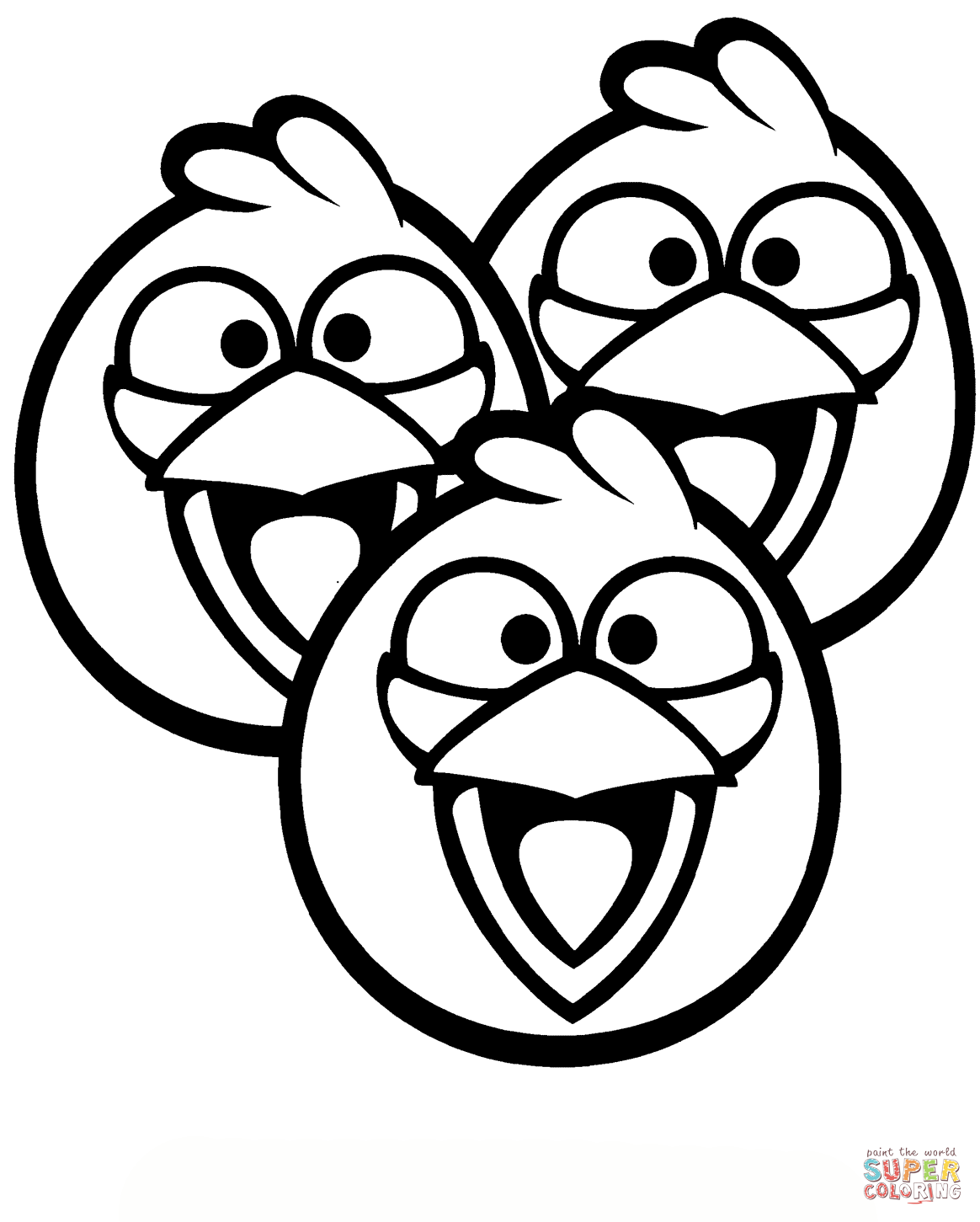 Blue Birds Coloring Page Free Printable Coloring Pages