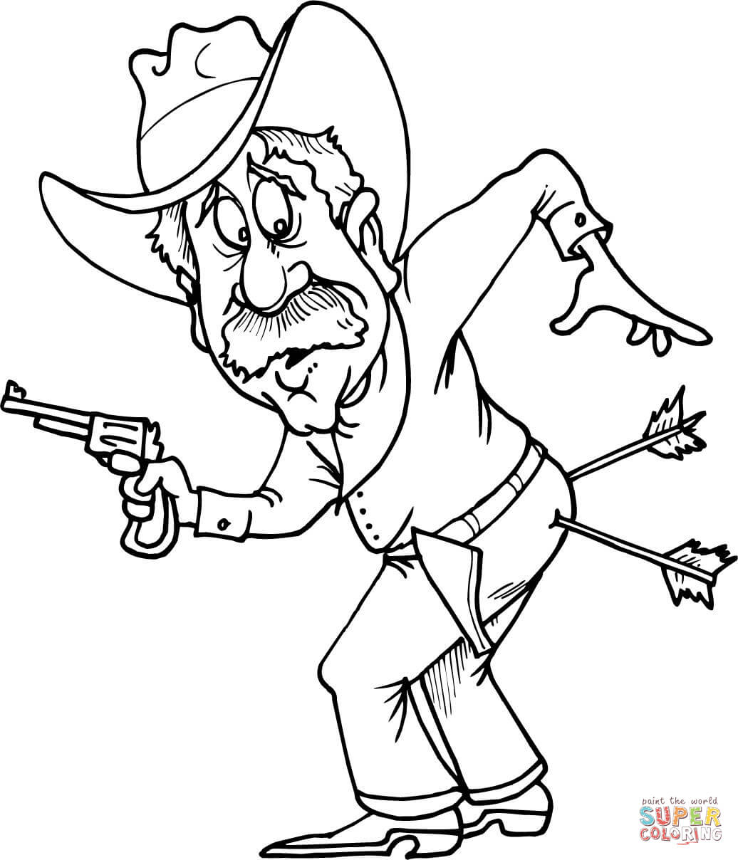 Wild West Coloring Pages Coloring Pages