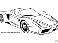 Ferrari Enzo Coloring Page Widescreen Printable For Halloween Laptop Hd Pics Car