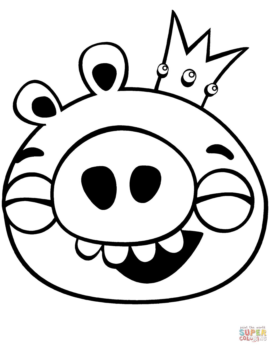 King Pig Skrattar M Larbok