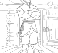Kristoff from frozen coloring page desktop printable frozen of animals hd pics the