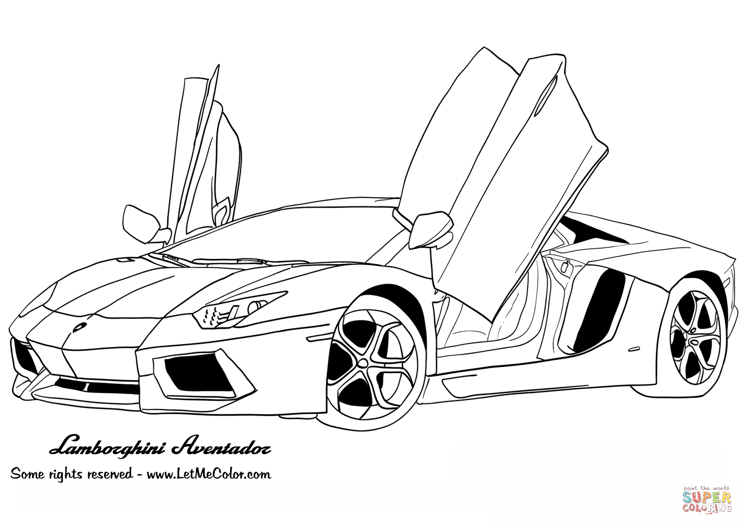 gtr coloring pages - photo#16