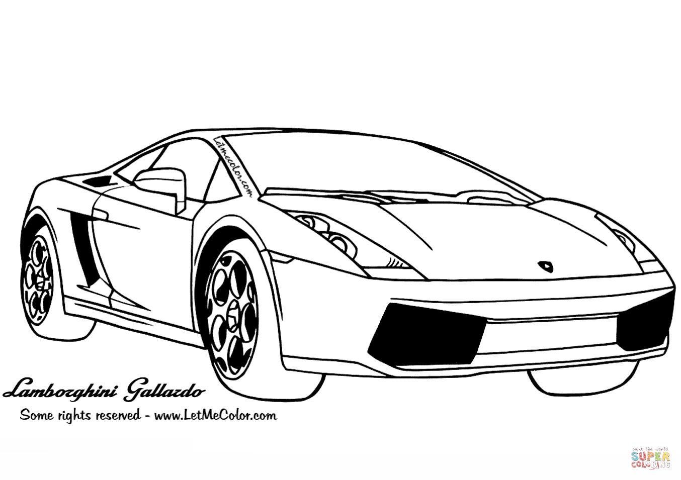 Clicker Sur La Lamborghini Gallardo Coloriages Pour Visualiser La Version Imprimable Ou Colorier En Ligne Compatible Avec Les Tablettes Ipad Et Android