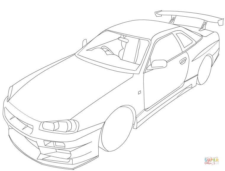 2002 Nissan Skyline R34 Gtr V Spec 2