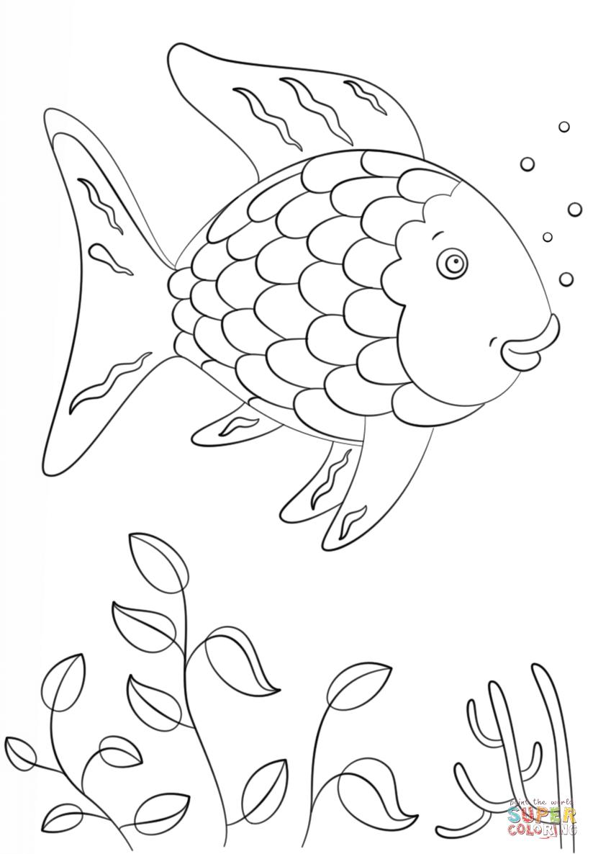 Ausmalbild Regenbogenfisch Ausmalbilder kostenlos zum