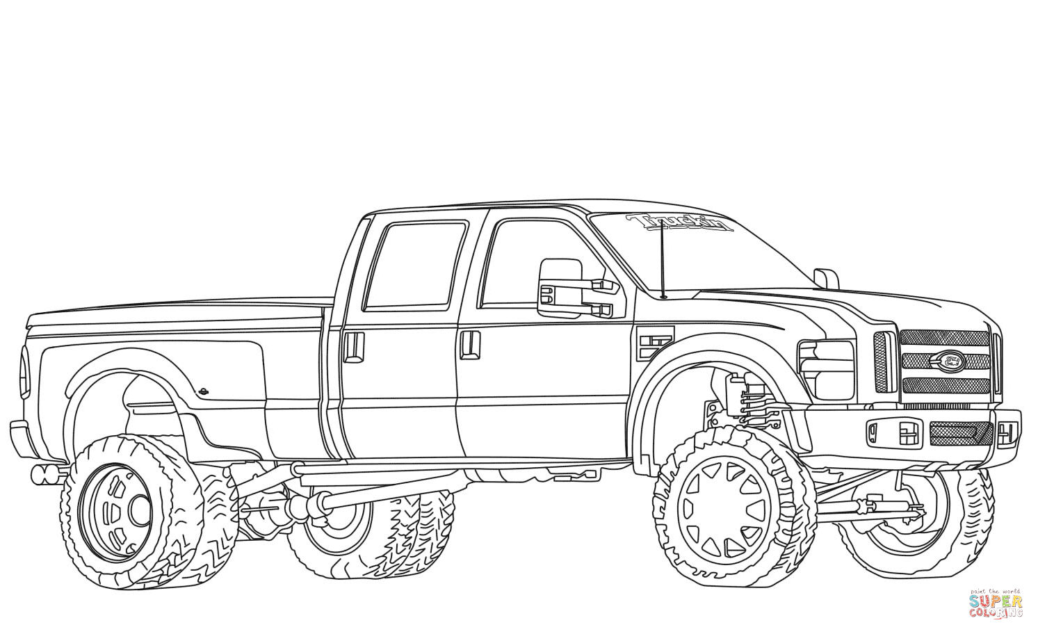 hight resolution of click the 2012 ford f350 dually lifted