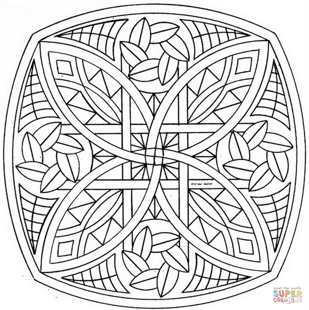 Colorear Mandalas Online. Fabulous Mandalas For Beginners