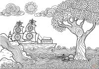 Disegni Di Paesaggi WP86  Regardsdefemmes