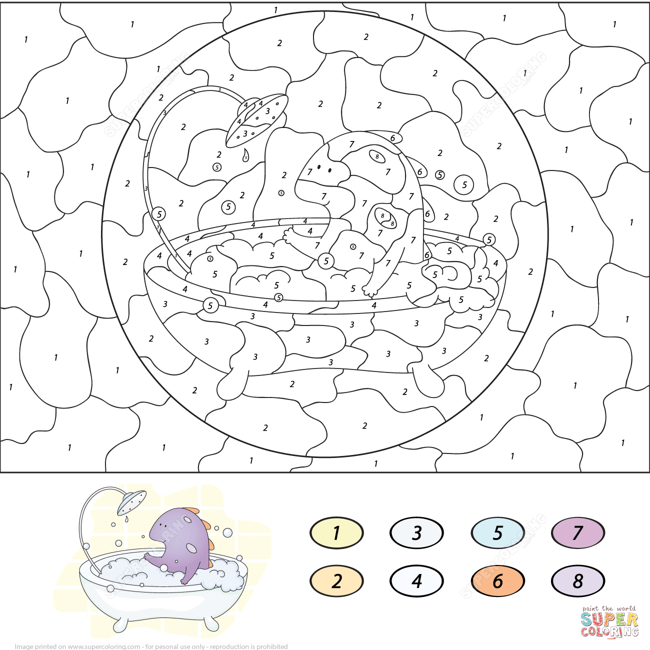 butterfly color by number coloring page dessincoloriage