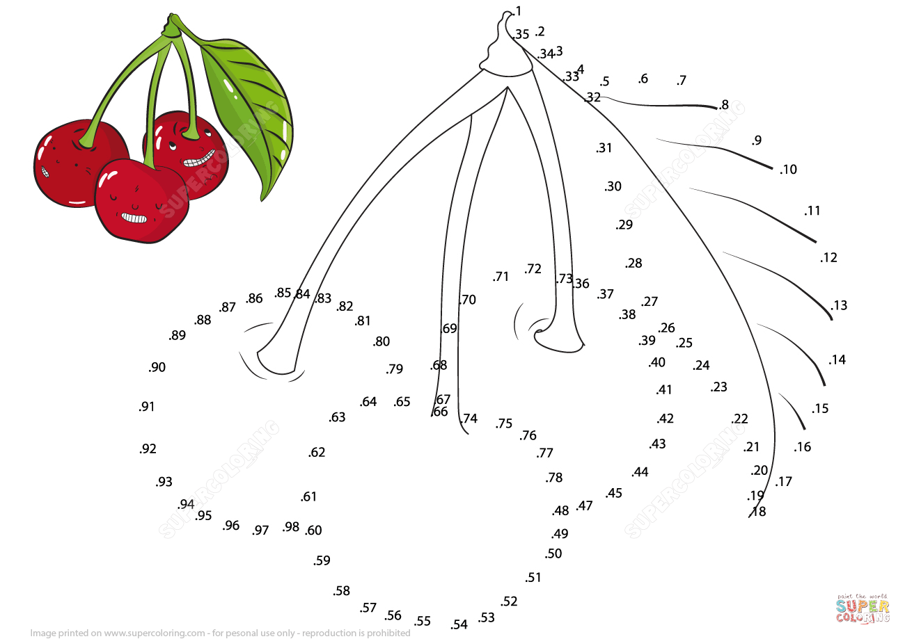 Cherries Dot To Dot