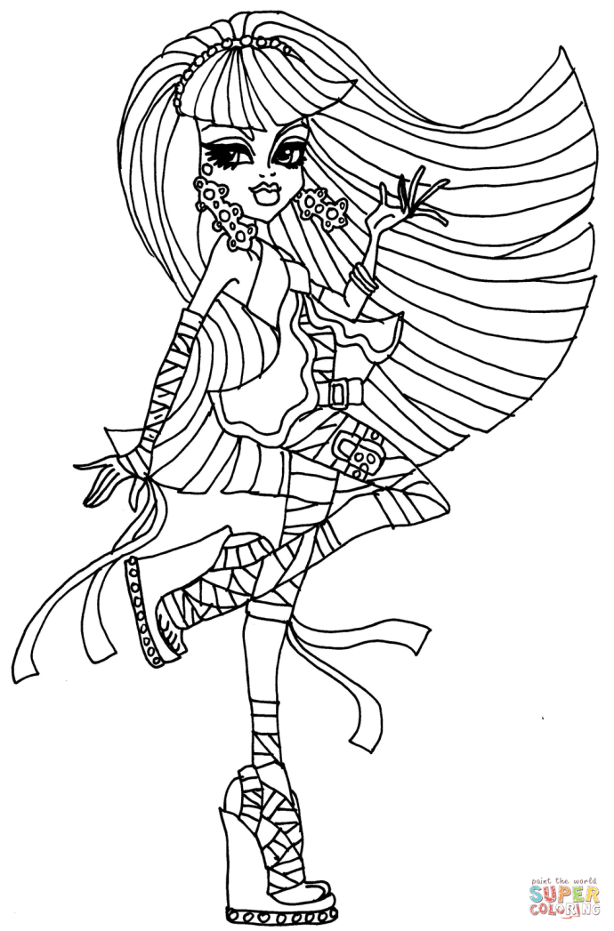 Click The Cleo De Nile Coloring Pages To View Printable