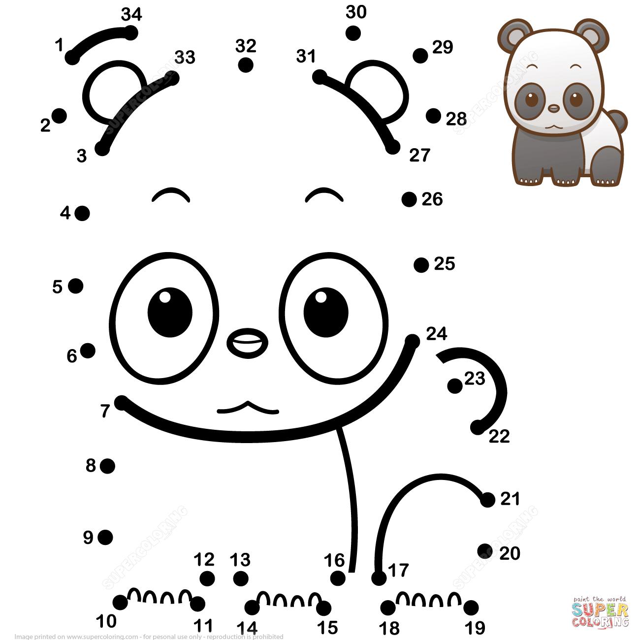 Pandas Coliring Worksheet