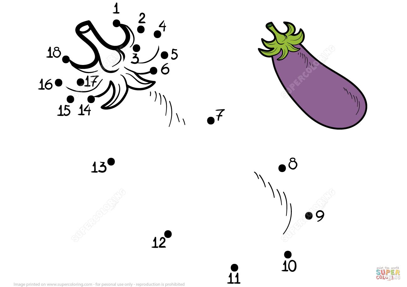 Aubergine Prik Til Prik