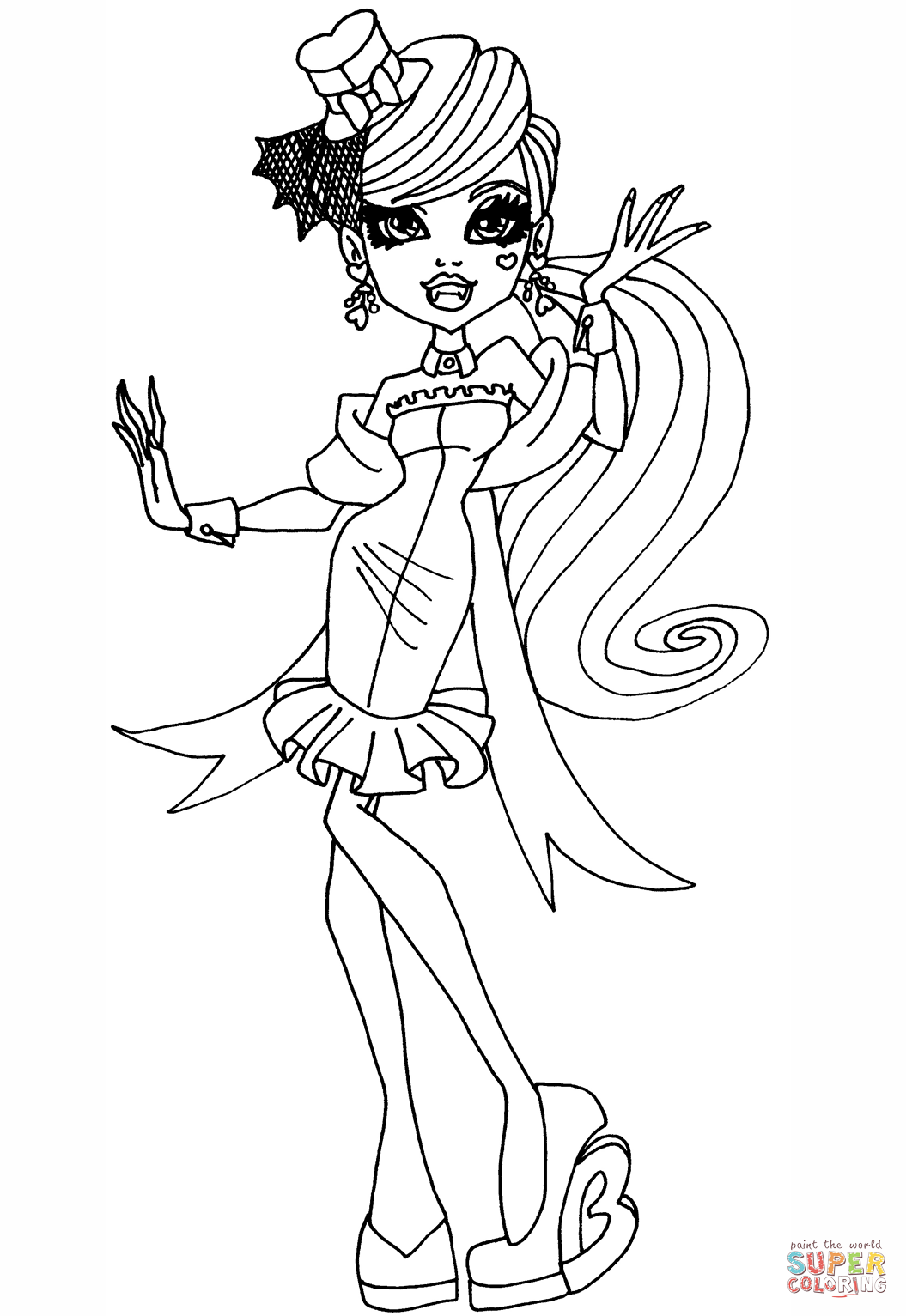 Monster High Draculaura Varityskuva