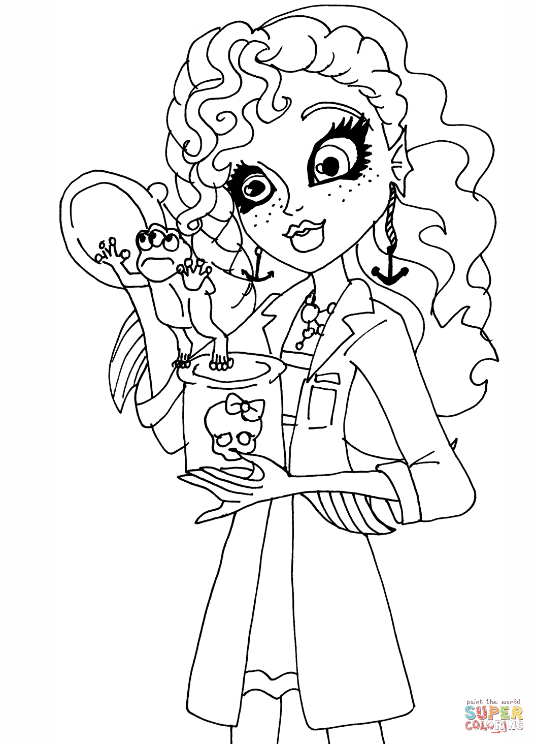 Dibujos Para Colorear Monster High Great Dibujos Para