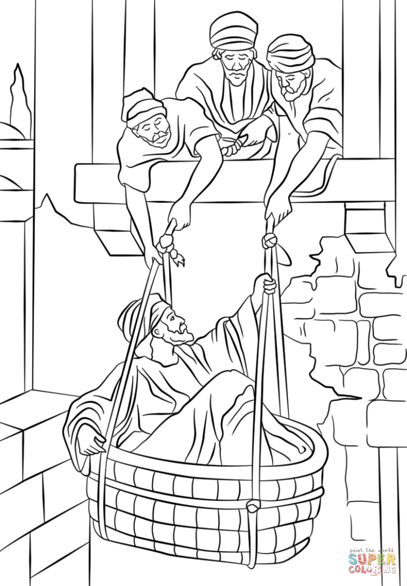 paul coloring pages | Coloringsite.co