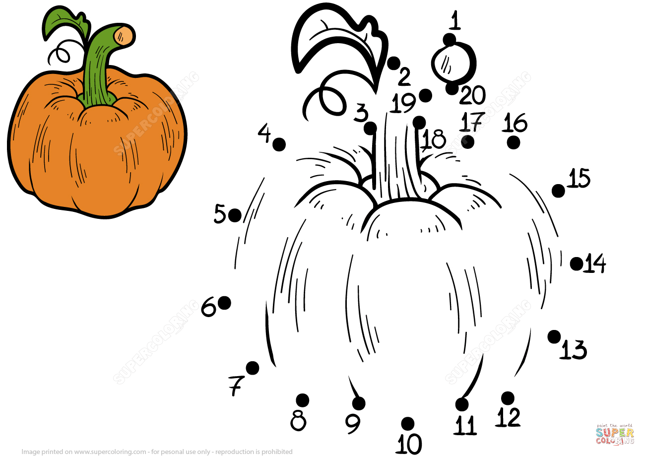 Pumpkin Dot To Dot