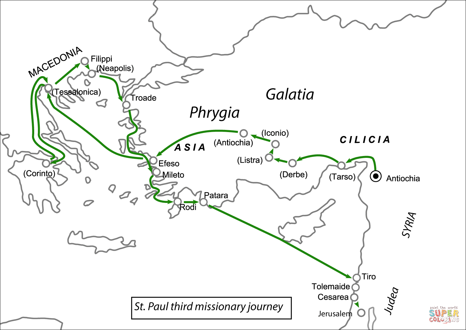Pauls Second Journey Paul S Second Missionary Journey