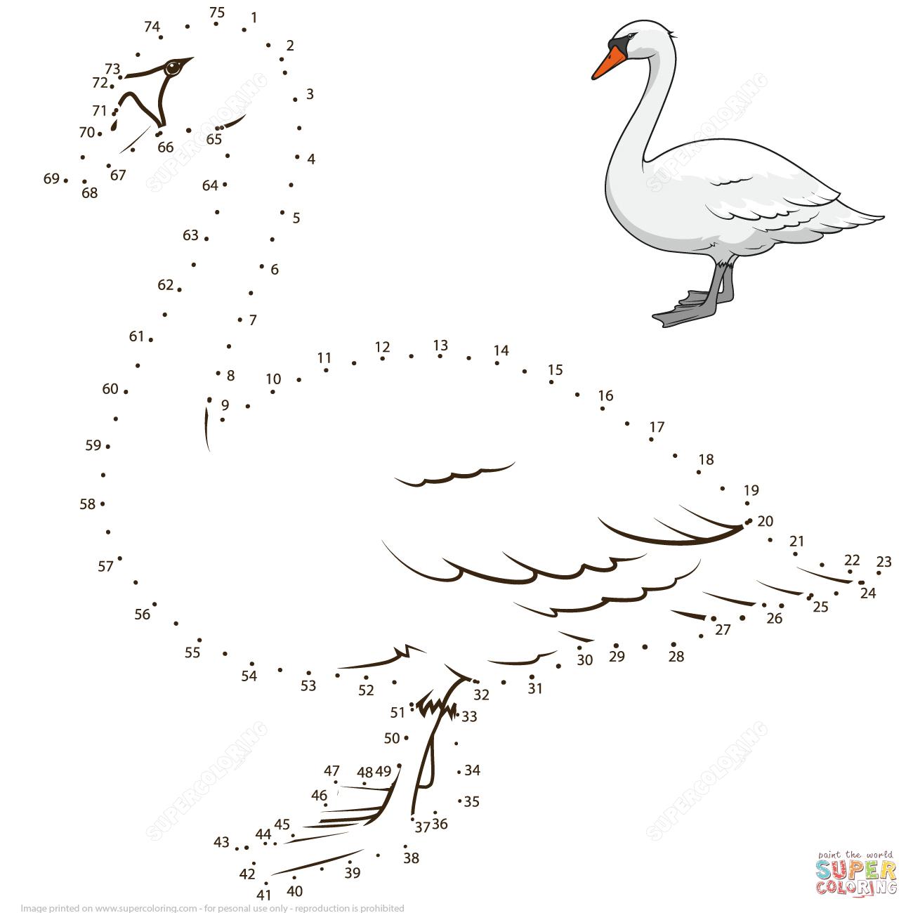 Swan Dot To Dot