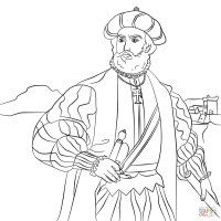 Vasco Da Gama coloring page | Free Printable Coloring Pages