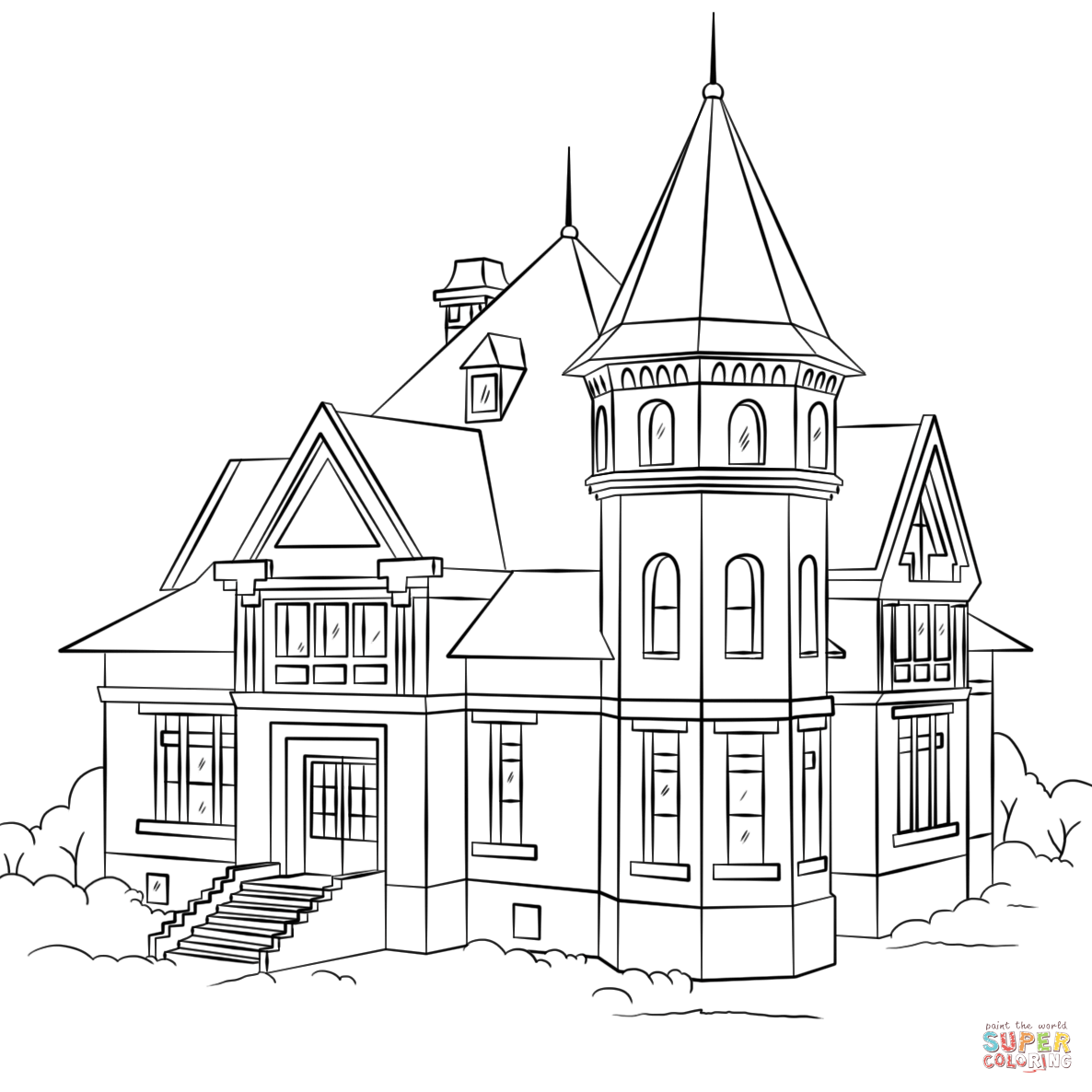 The White House coloring pages | House colouring pages, House ... | 1186x1186