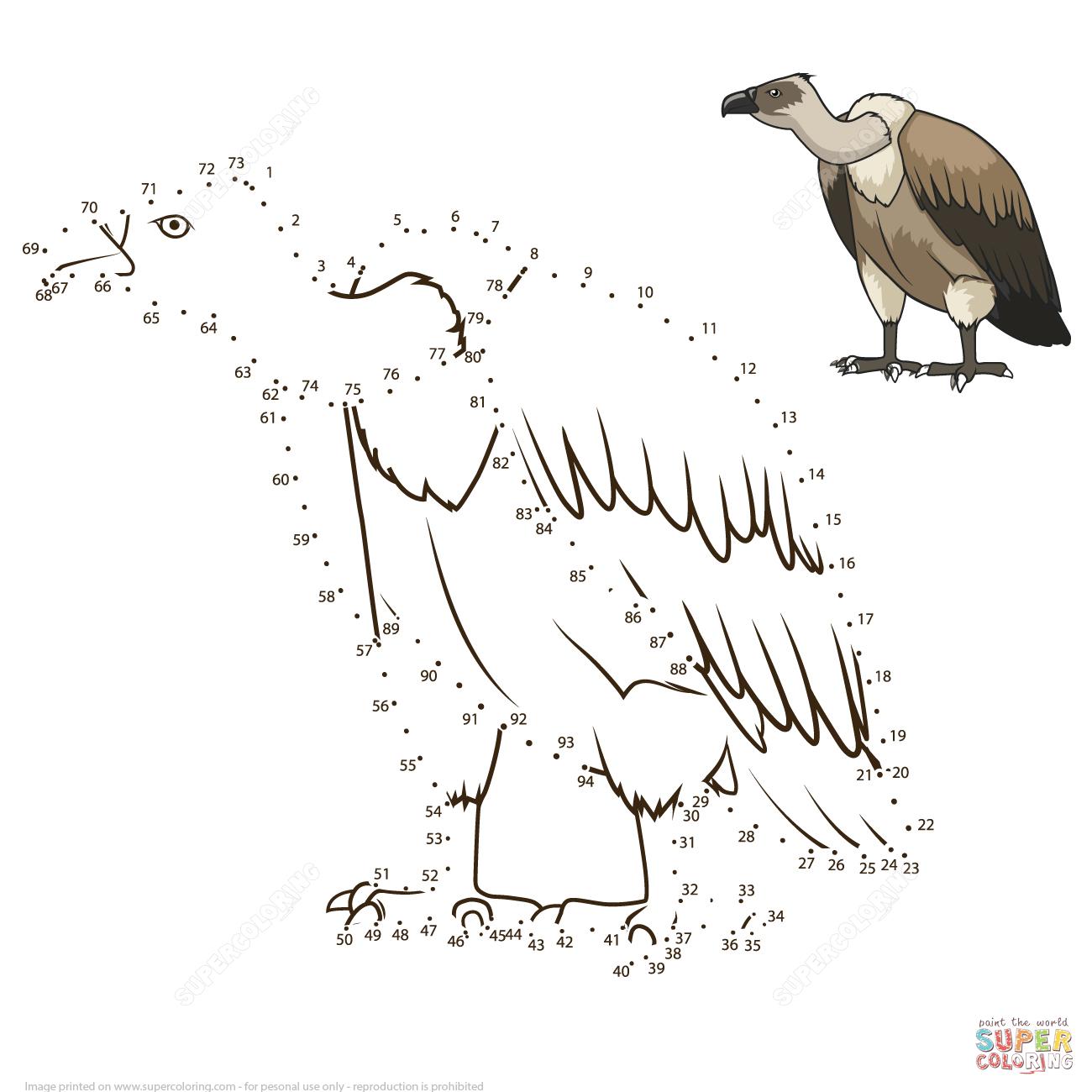 Vulture Dot To Dot